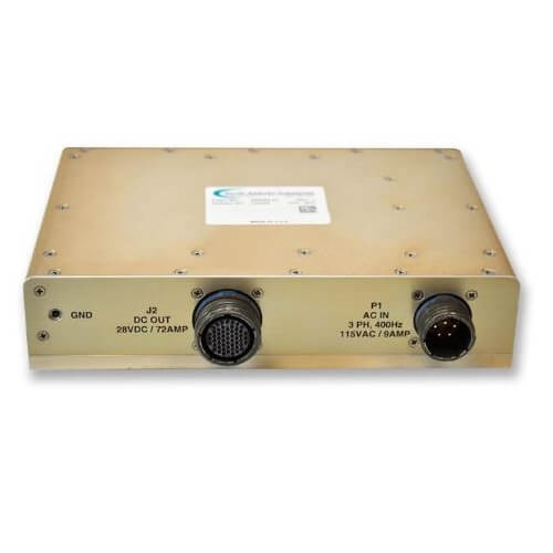2000 Watt AC to DC Rugged Power Supply